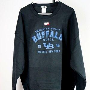 Other - Buffalo Bulls Crew Neck Sweatshirt (Black)